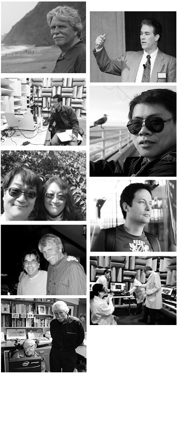 Sound Research Team Members Photo Collage